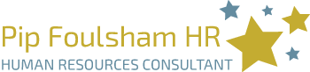 Pip Foulsham HR human resources consultant UK logo